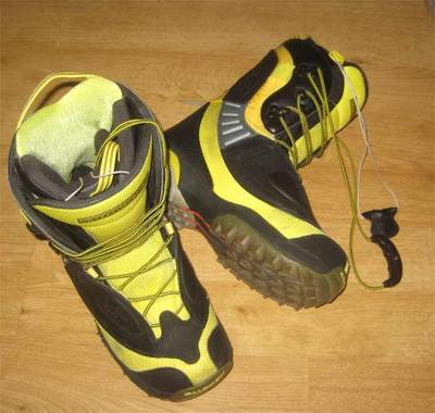 Snowboard Boots Salomon Synapse Custom Fit 3d Uk 10